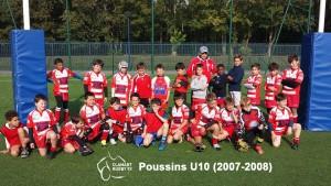 Clamart Rugby 92 U10 Poussins école de rugby