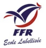 logo fédération française de rugby Ecole labellisee