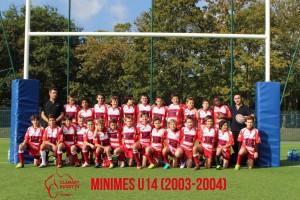 minimes U14 Ecole de Rugby Clamart Rugby 92