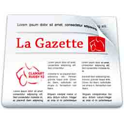 Icone La Gazette de Clamart Rugby 92