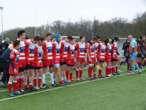 Les cadets en phases finales Clamart rugby