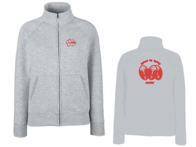 Boutique en ligne Clamart Rugby9 2 gilet sans capuche gris pour femme