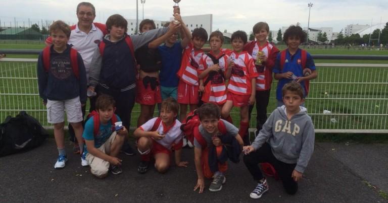 Des victoires en école de rugby