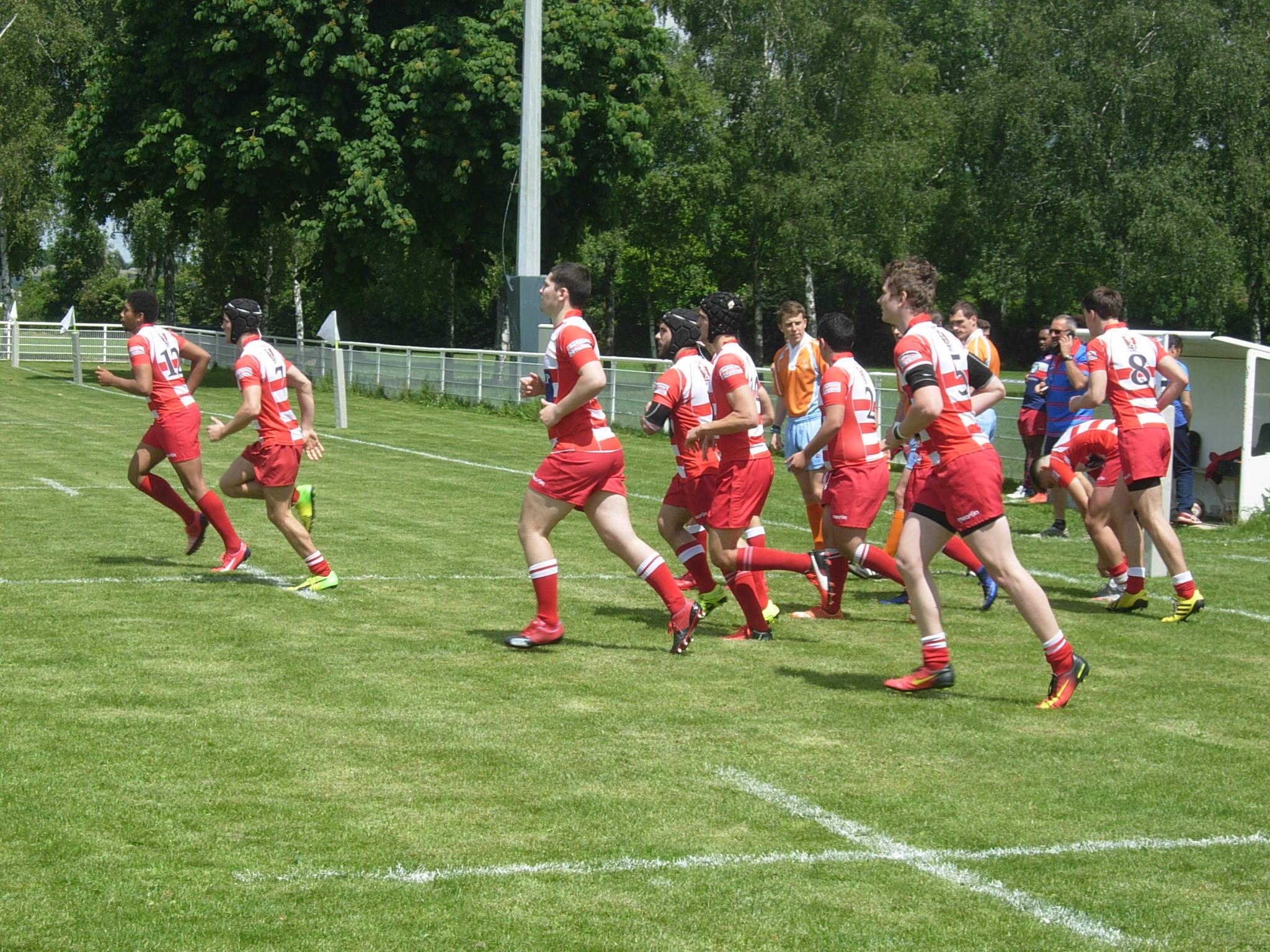 Clamart Rugby 92 Fin de l'aventure pour les Juniors