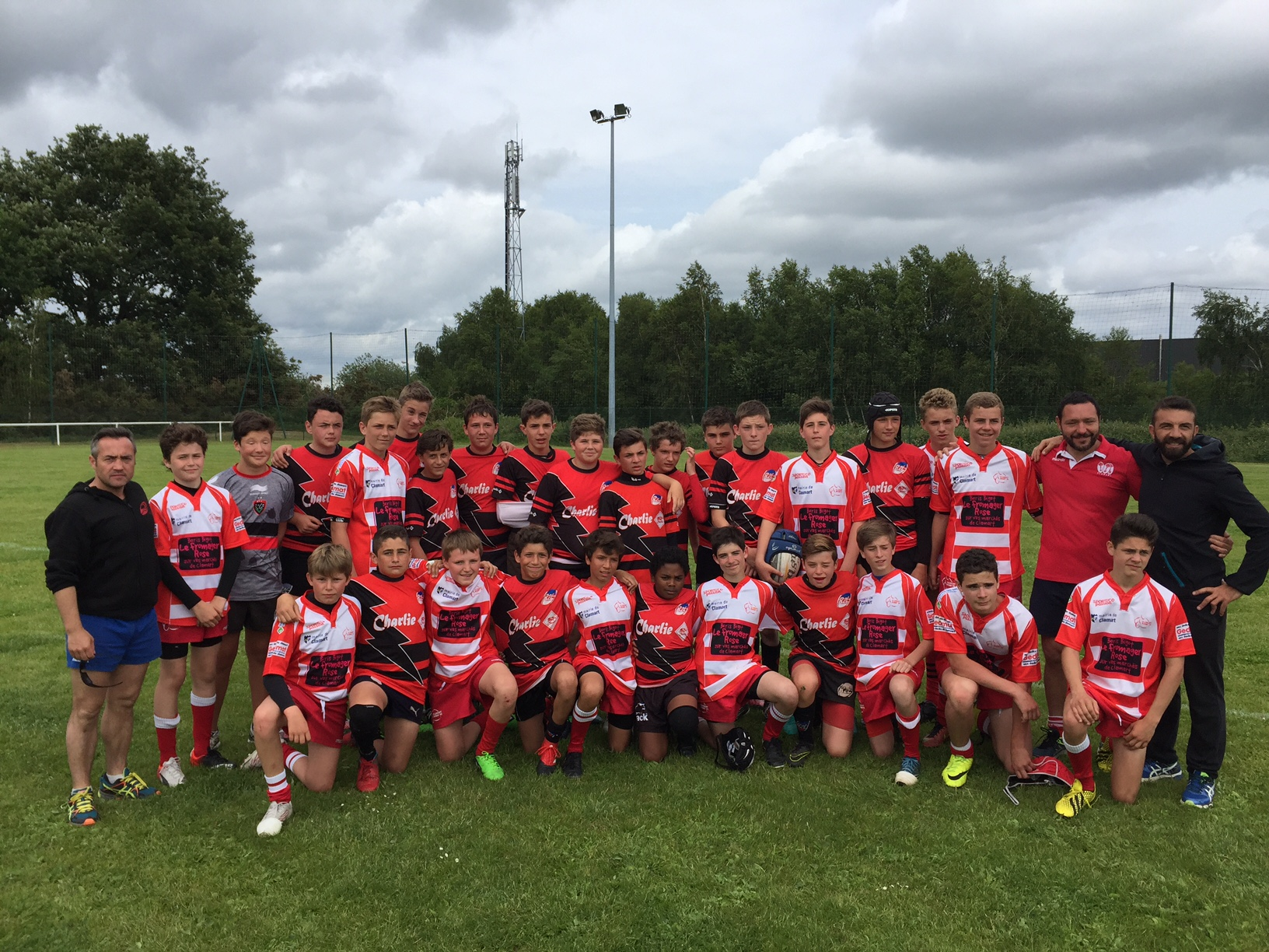 Clamart Rugby 92 U14 au tournoi de Lanester - Ecole de Rugby de Clamart 92-juin 2017