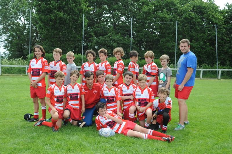 Clamart Rugby 92 U12 au tournoi de Lanester - Ecole de Rugby de Clamart 92-juin 2017