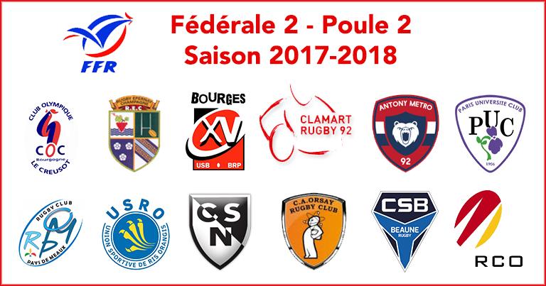 Seniors saison 2017-2018