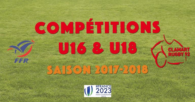 Championnats Cadets et Juniors 2017-2018