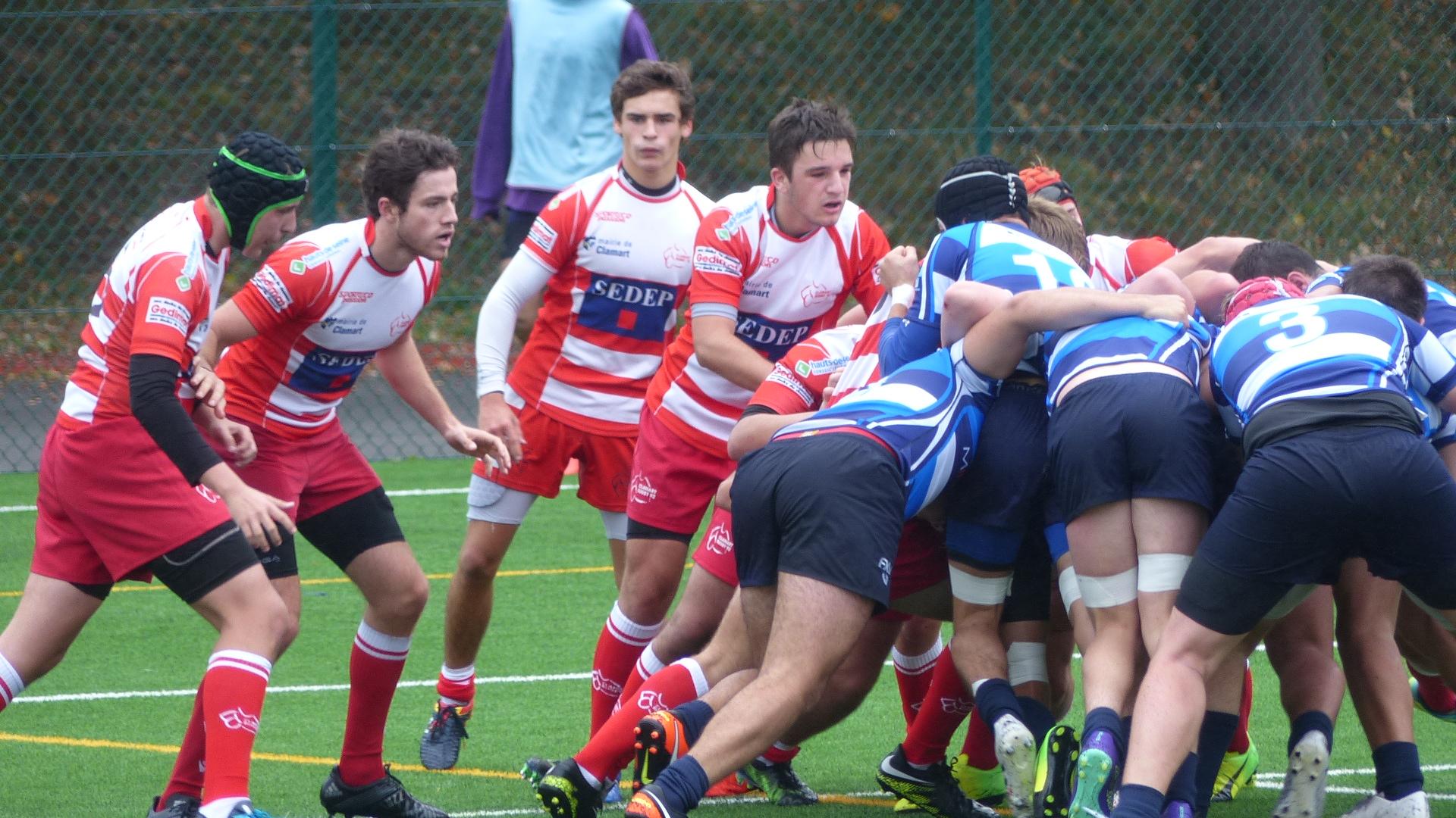 Clamart Rugby 92 - Premier match des Juniors en Balandrade-5