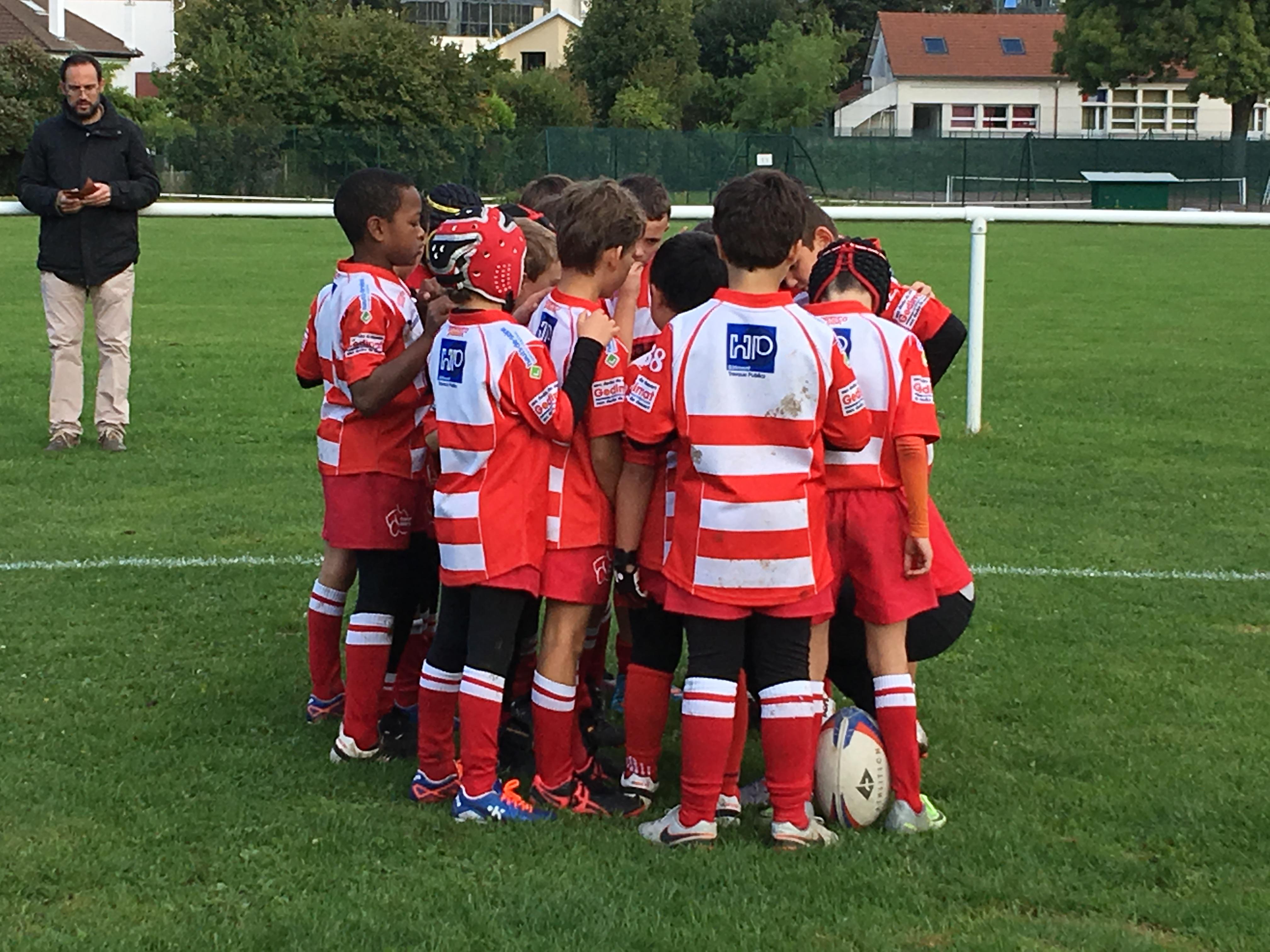 Clamart Rugby 92 Triangulaire U10 de Marne La Coquette-1