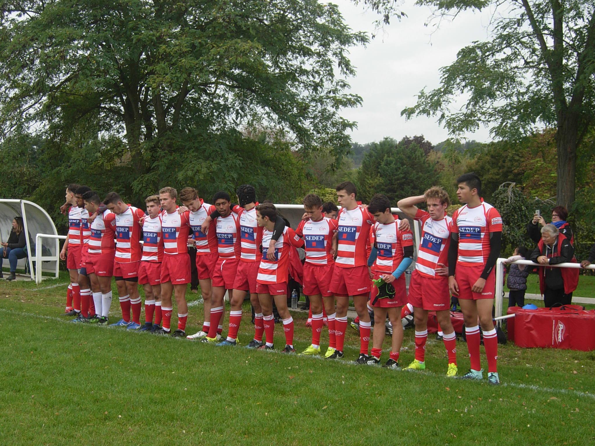 Clamart Rugby 92 -Balandrade Victoire des juniors contre Montesson- dimanche 8 septembre 2017