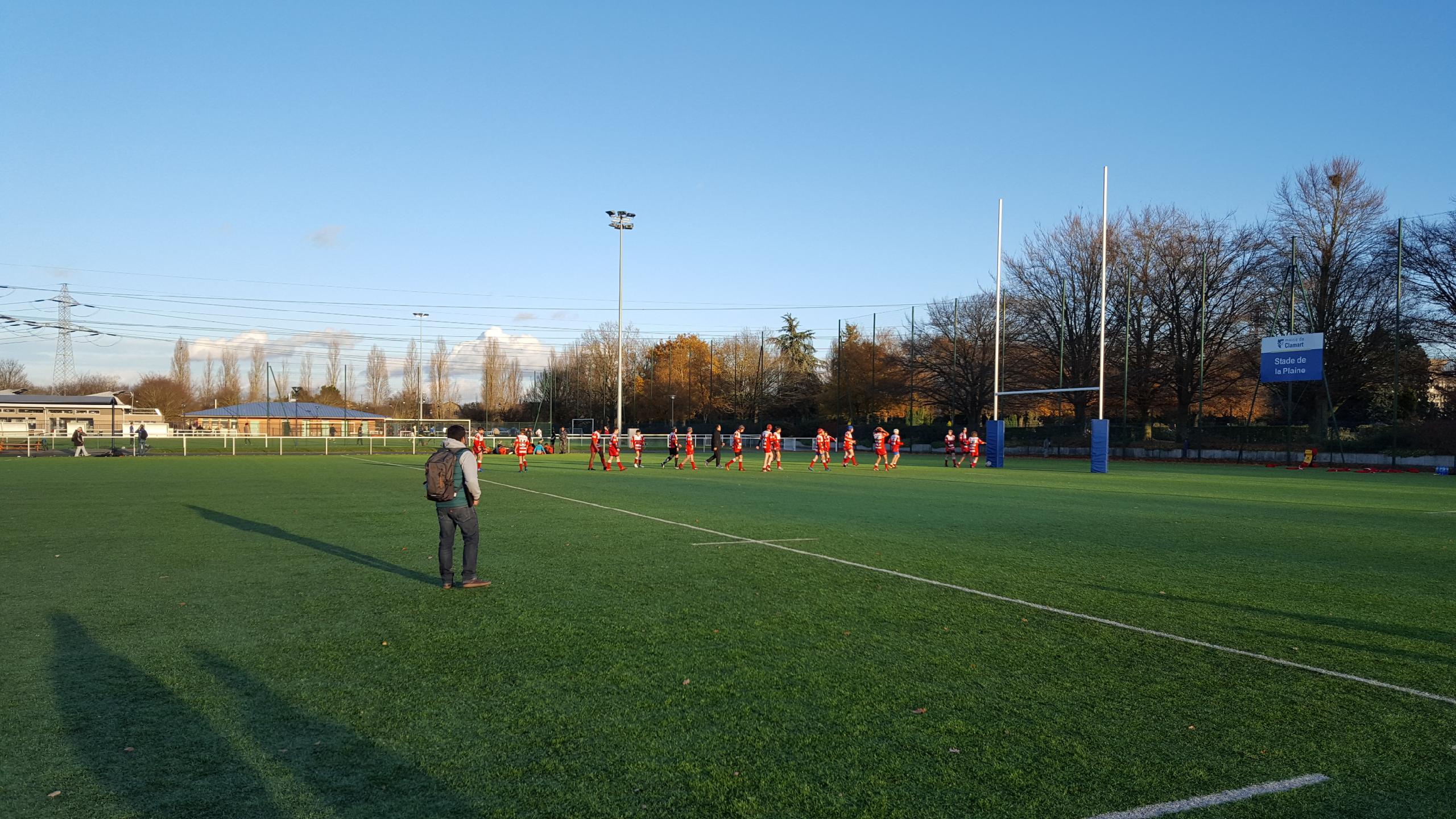 Clamart Rugby 92 - Triangulaire CIFR U14 2004 25 novembre 2017