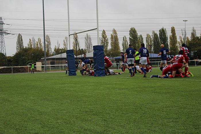 Clamart Rugby 92 contre XO Paris pour le premier match des seniors en championnat Honneur