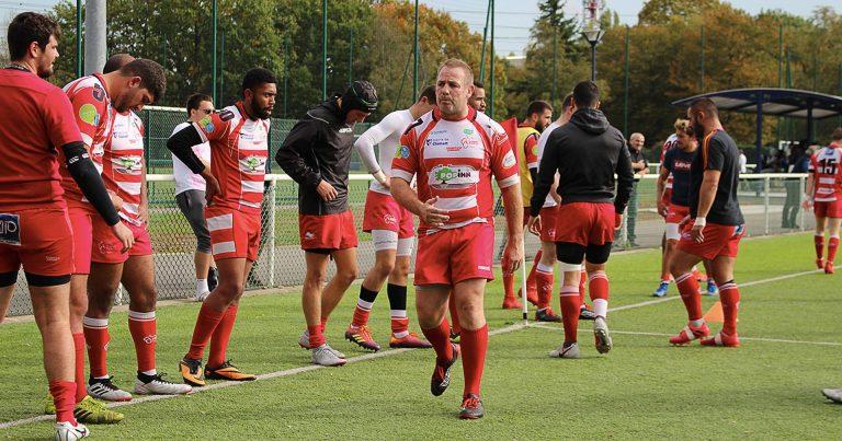 Les Seniors contre l'Union Rugby Centre 78:  Jusqu'au bout du suspense