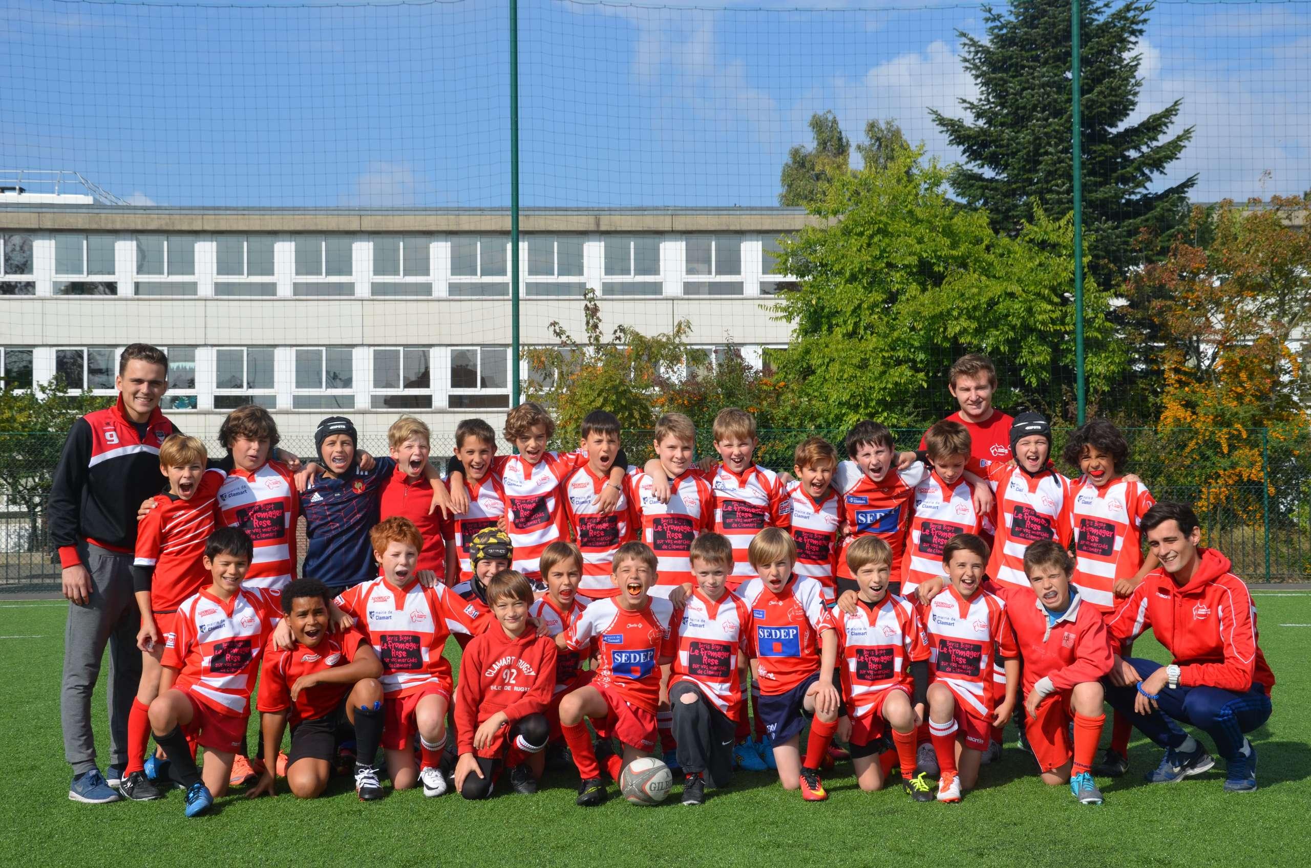 Résultats du samedi 8 octobre 2016 Ecole de rugby Clamart Rugby 92 Ile de France