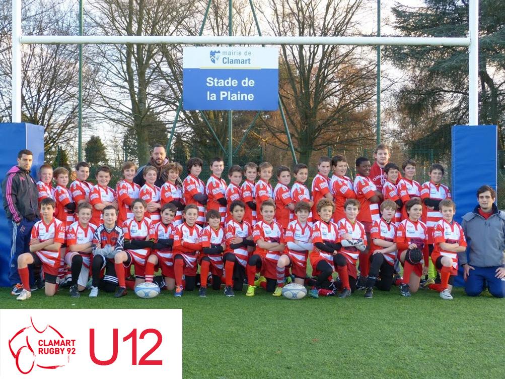 Ecole de rugby - Clamart rugby 92 - U12