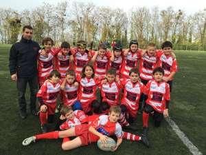 U12-2005 Ecole de Rugby Clamart Rugby 92 triangulaire départementale à Suresnes