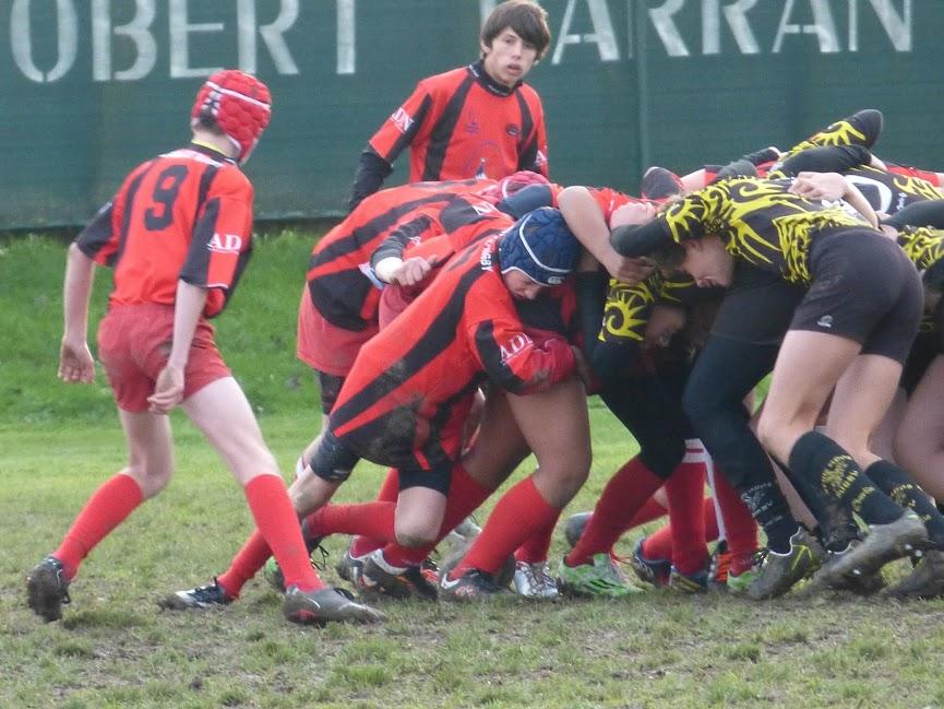 U14 Ecole de Rugby Clamart Rugby 92 triangulaire CIFR à Brétigny