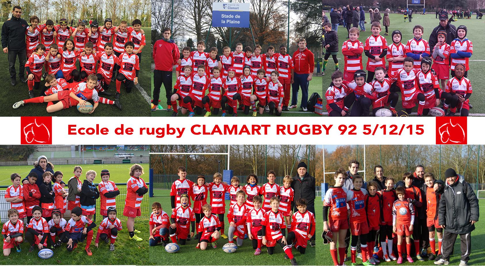 école de rugby Clamart rugby 92 - 5 décembre 2105