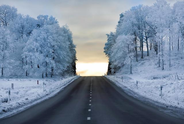 paysage vacances d'hiver