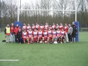 Victoire des Juniors Clamart Rugby 92