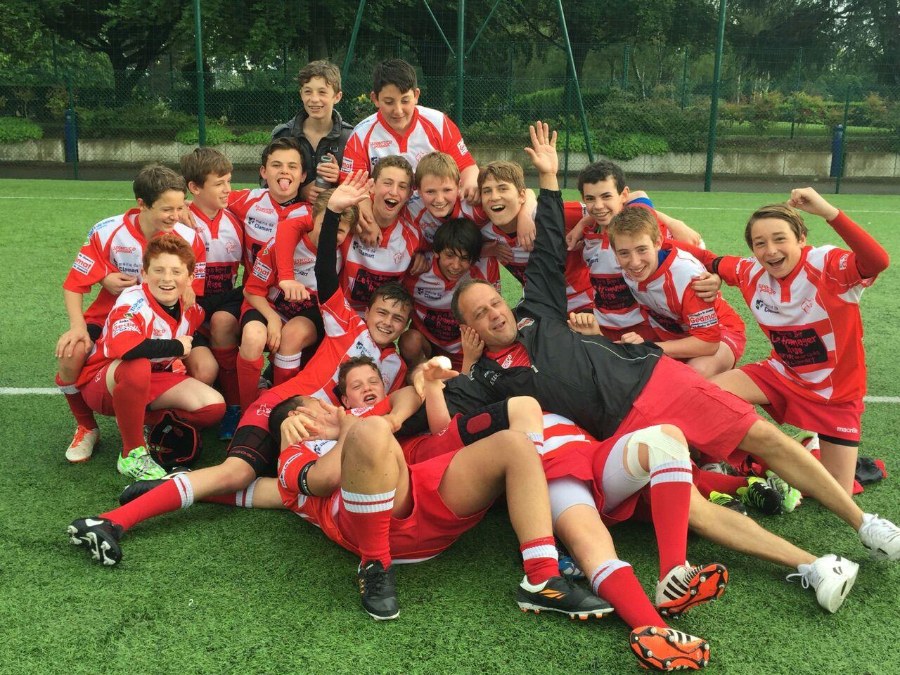 Les U14 en finale - clamart rugby 92