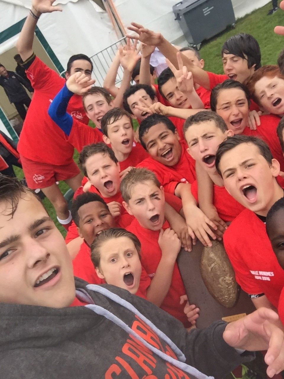 Les U14 remportent leur finale - Clamart Rugby 92