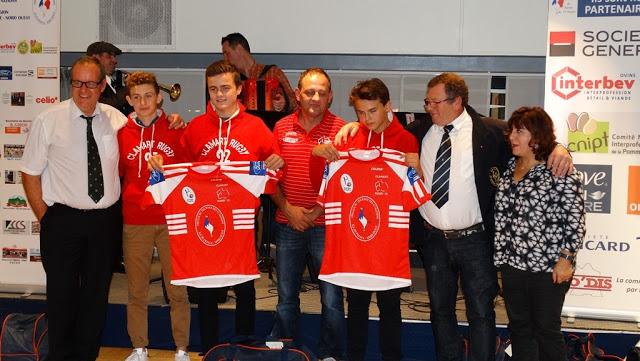 Clamart Rugby 92 Les U14 récompensés par l'Amicale du tournoi des VI Nations Ile de France Ouest