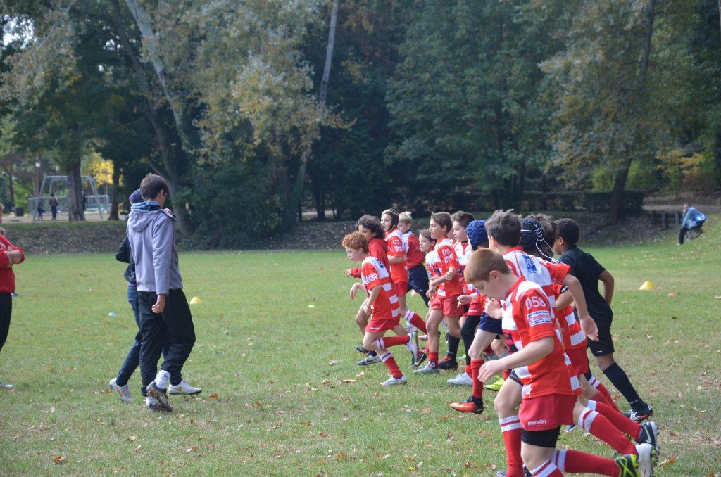 Clamart Rugby 92 U12 contre Antony