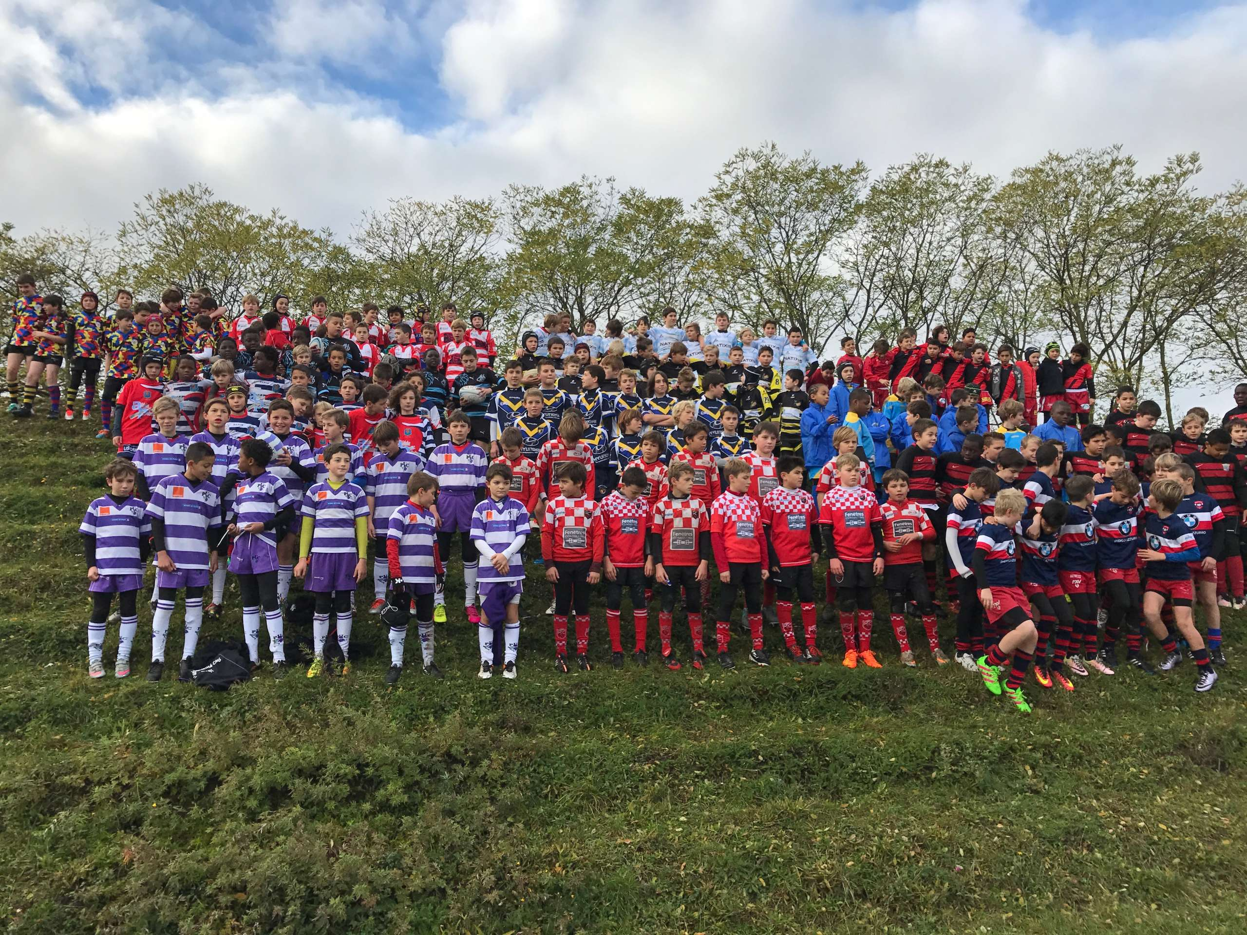 Clamart Rugby 92 - U12 au tournoi de Bagneux