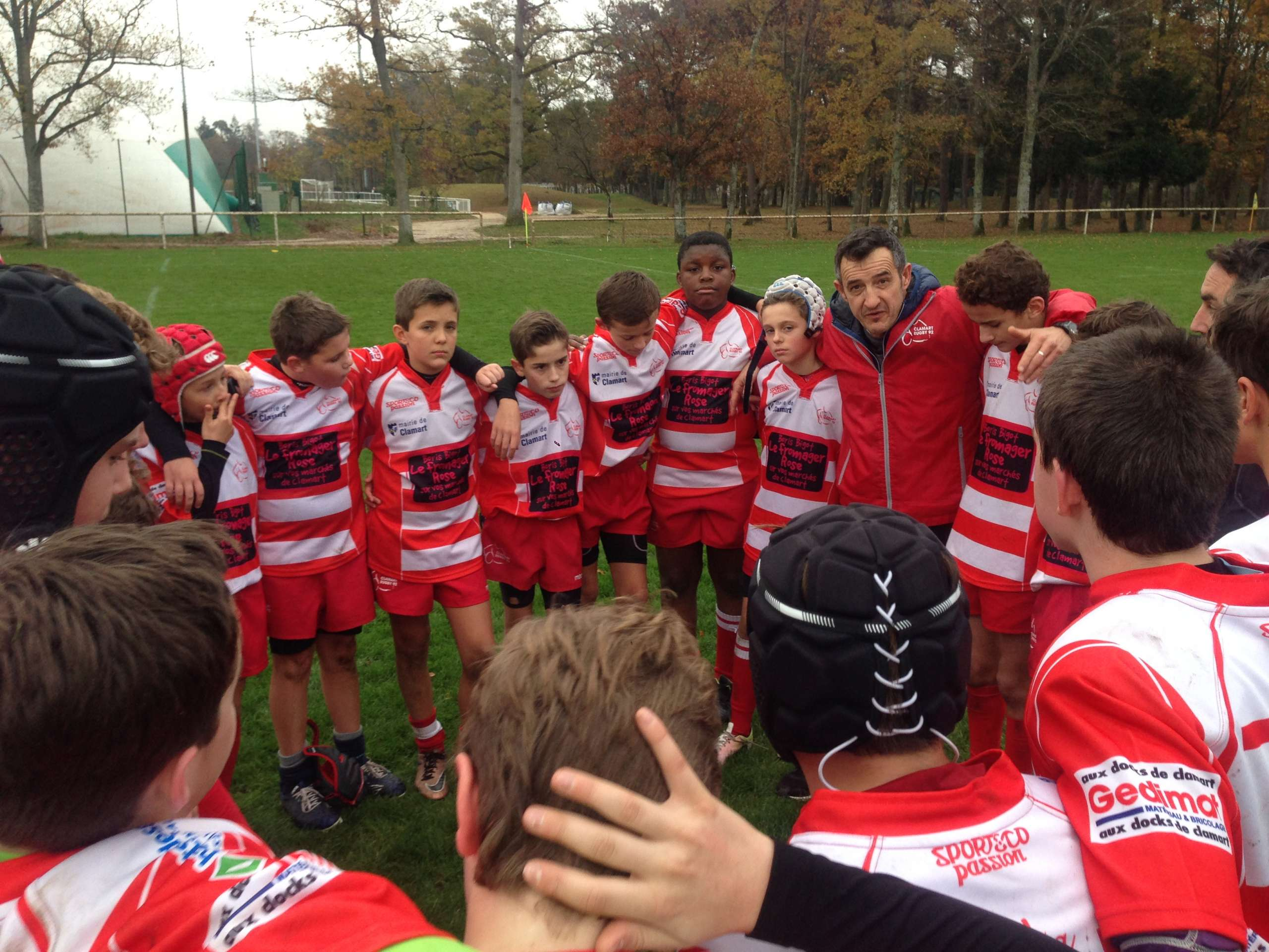 Clamart Rugby 92 Victoire U14 contre RS77