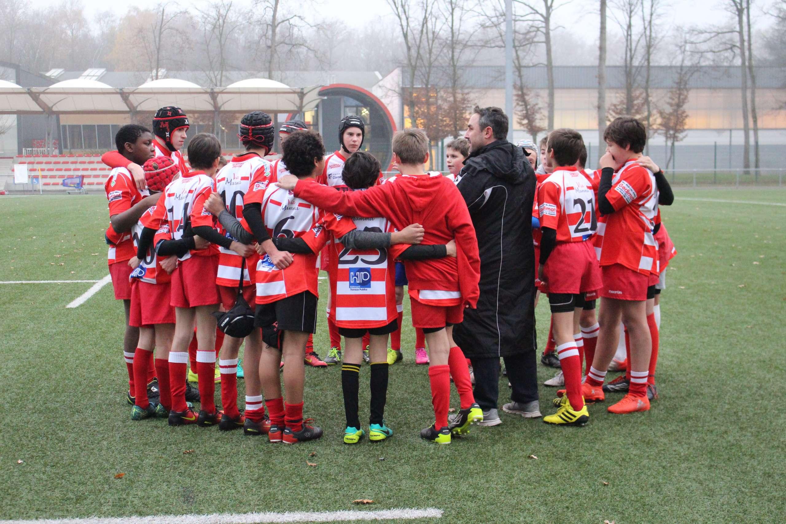 Clamart Rugby 92 -4e Rencontres CIFR U14 2004