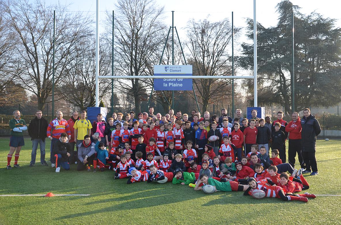 Clamart Rugby 92 - matchs Rugby festif toutes catégories Ecole de rugby-17-12-2016