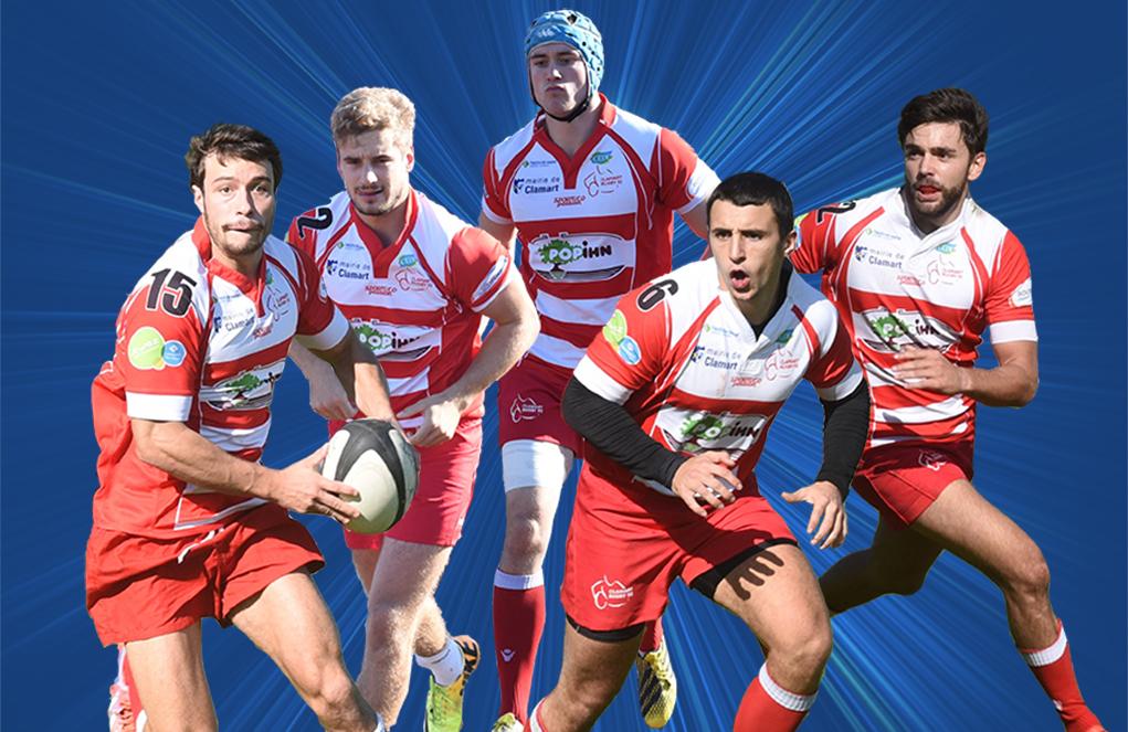 Clamart rugby 92 Victoire des Seniors contre Drancy