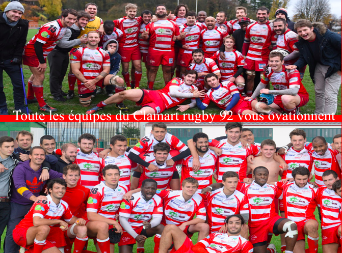Voeux 2017 de Clamart Rugby 92
