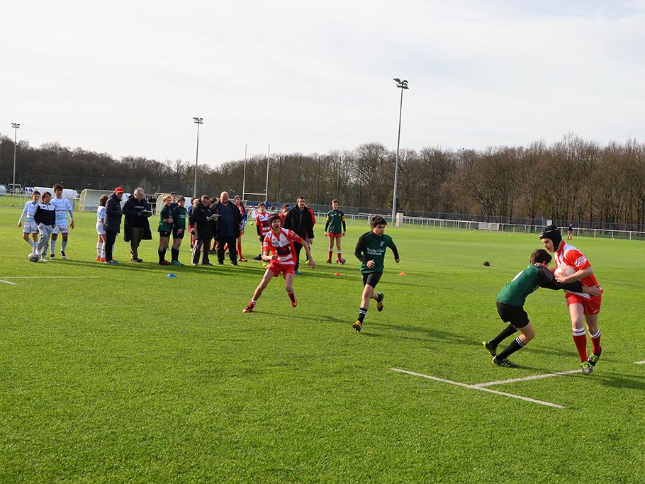 Clamart Rugby 92-U14 Challenge Orange- samedi 25 février 2017