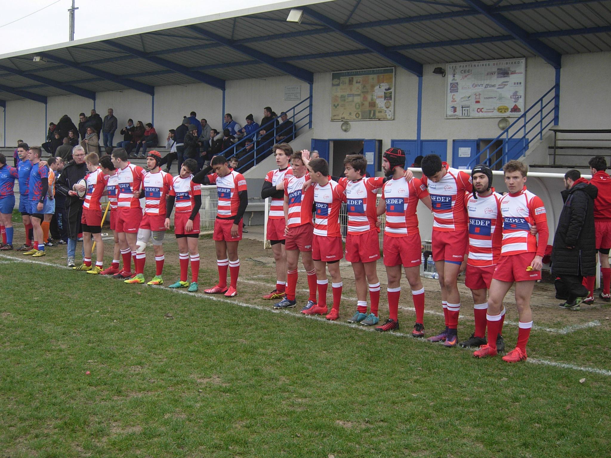 Clamart Rugby 92 Belle victoire des Juniors Phliponeau A dimanche 26 février 2017