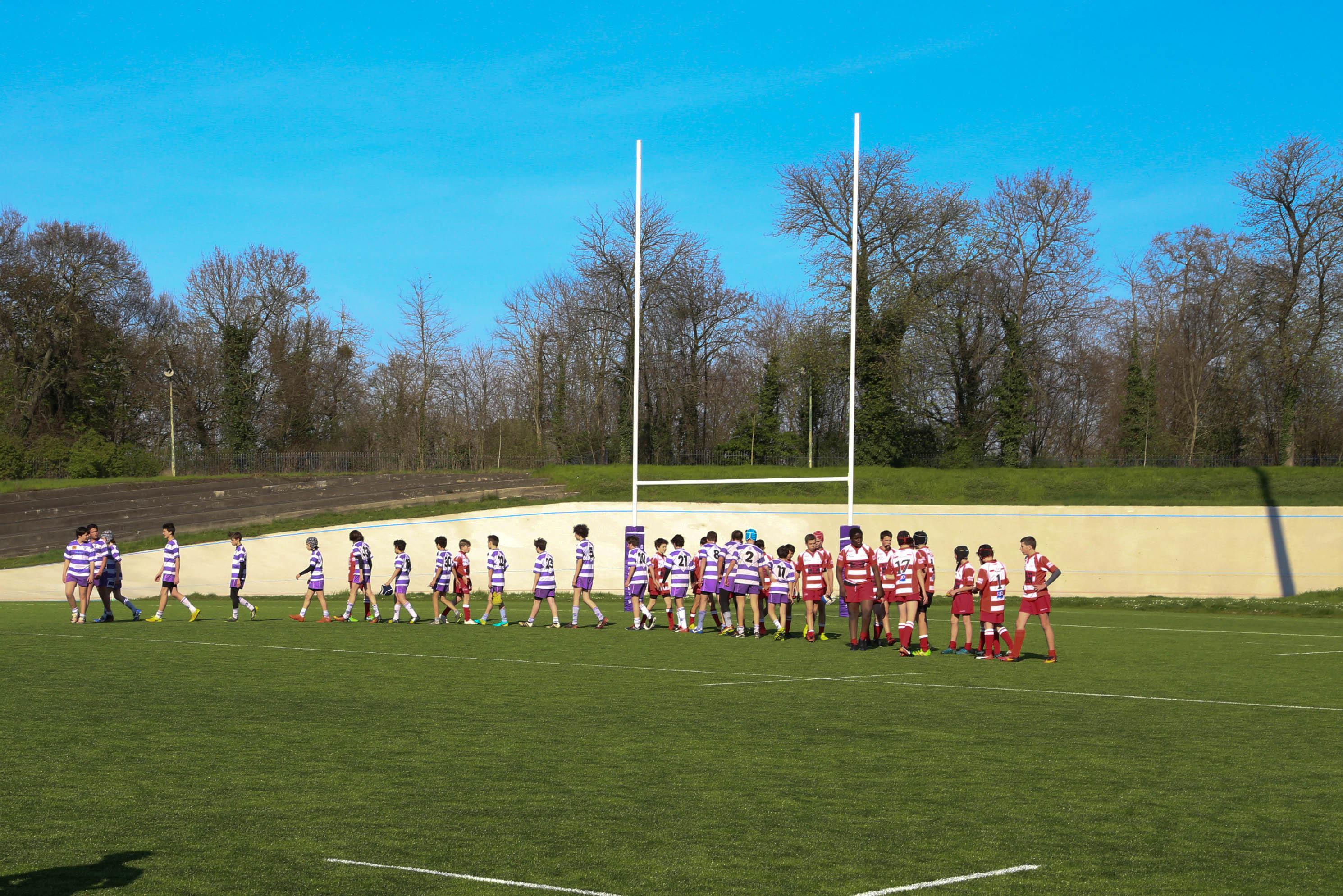 Clamart Rugby 92 - Plateau CIFR U14 2003 au PUC 25 mars 2017