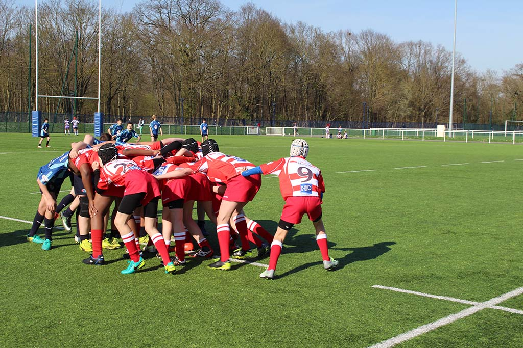 Clamart Rugby 92 - Plateau CIFR U14 2004 de Clamart 25 mars 2017