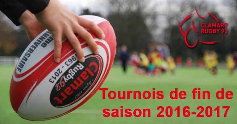 Clamart Rugby 92 Tournois de fin d'année 2017