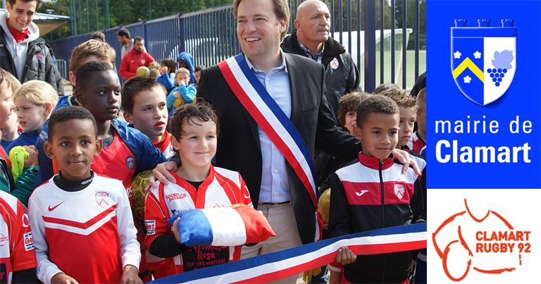 Clamart Rugby 92 inauguration du club house