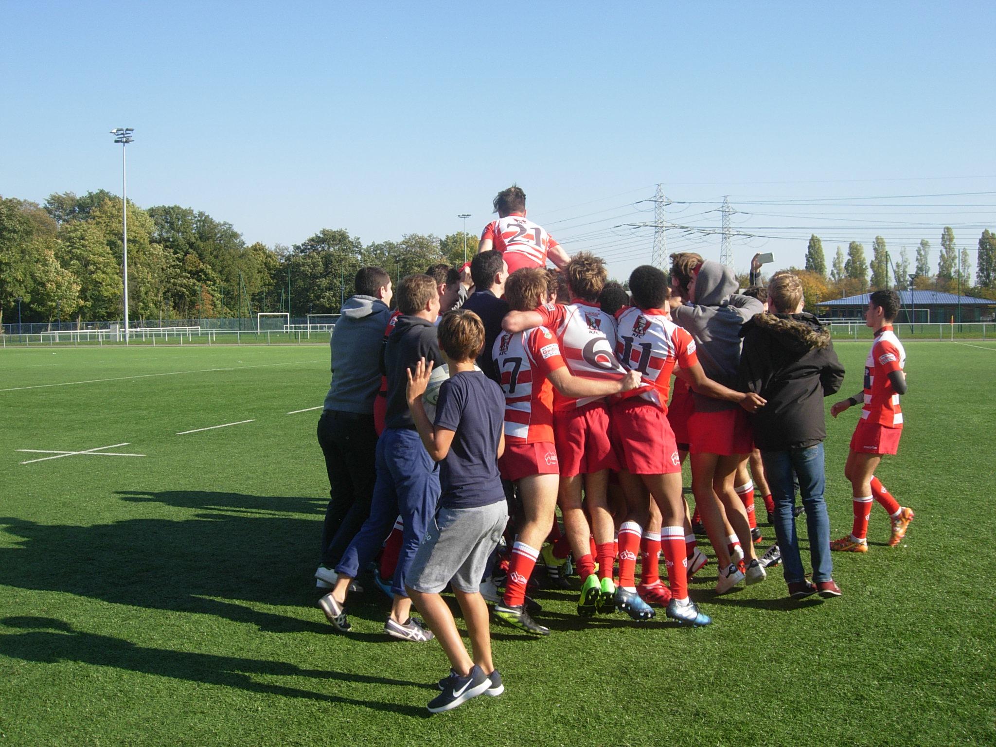 Clamart Rugby 92 - Qualification des juniors