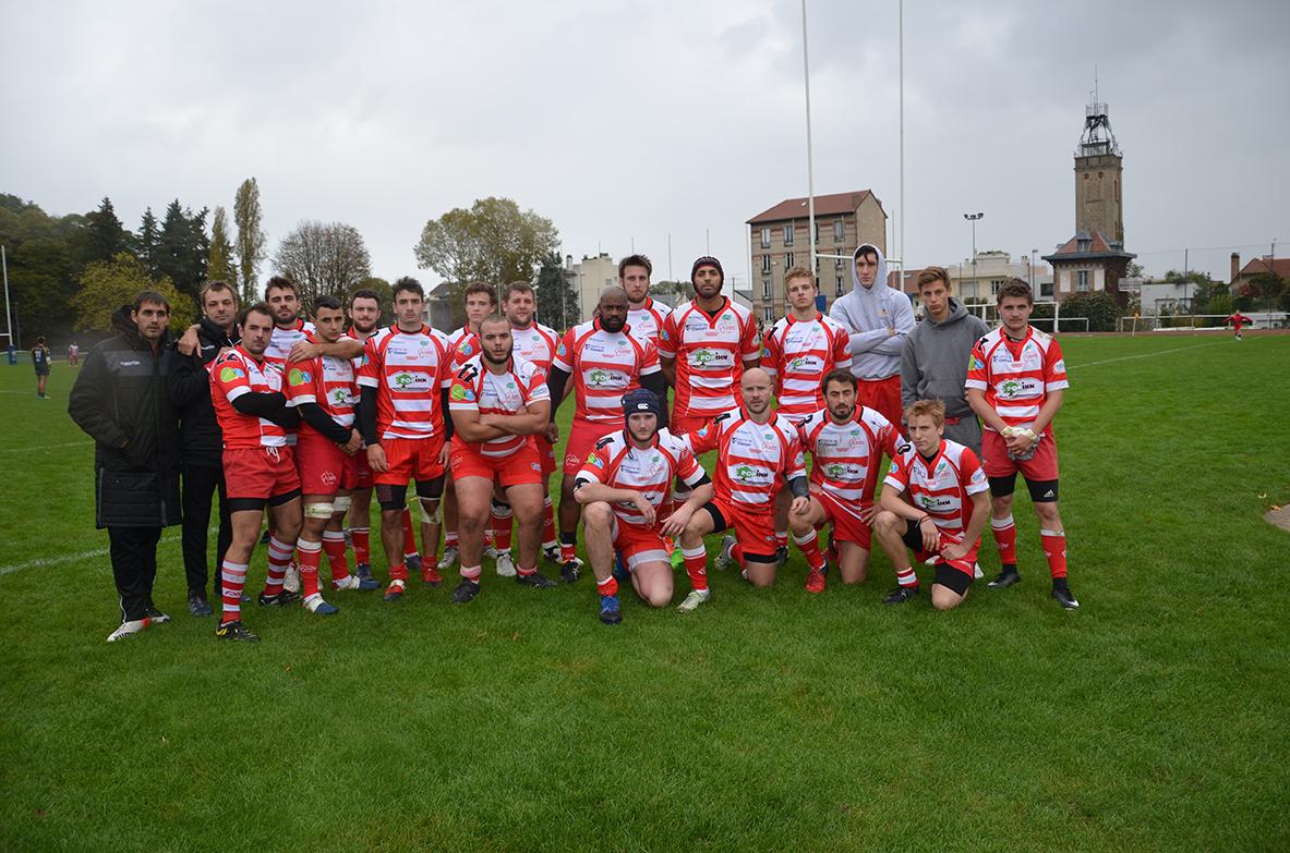 Clamart Rugby 92 Réserve Clamart Rugby 92 Fédérale 2 Défaite contre Orléans 22 octobre 2017