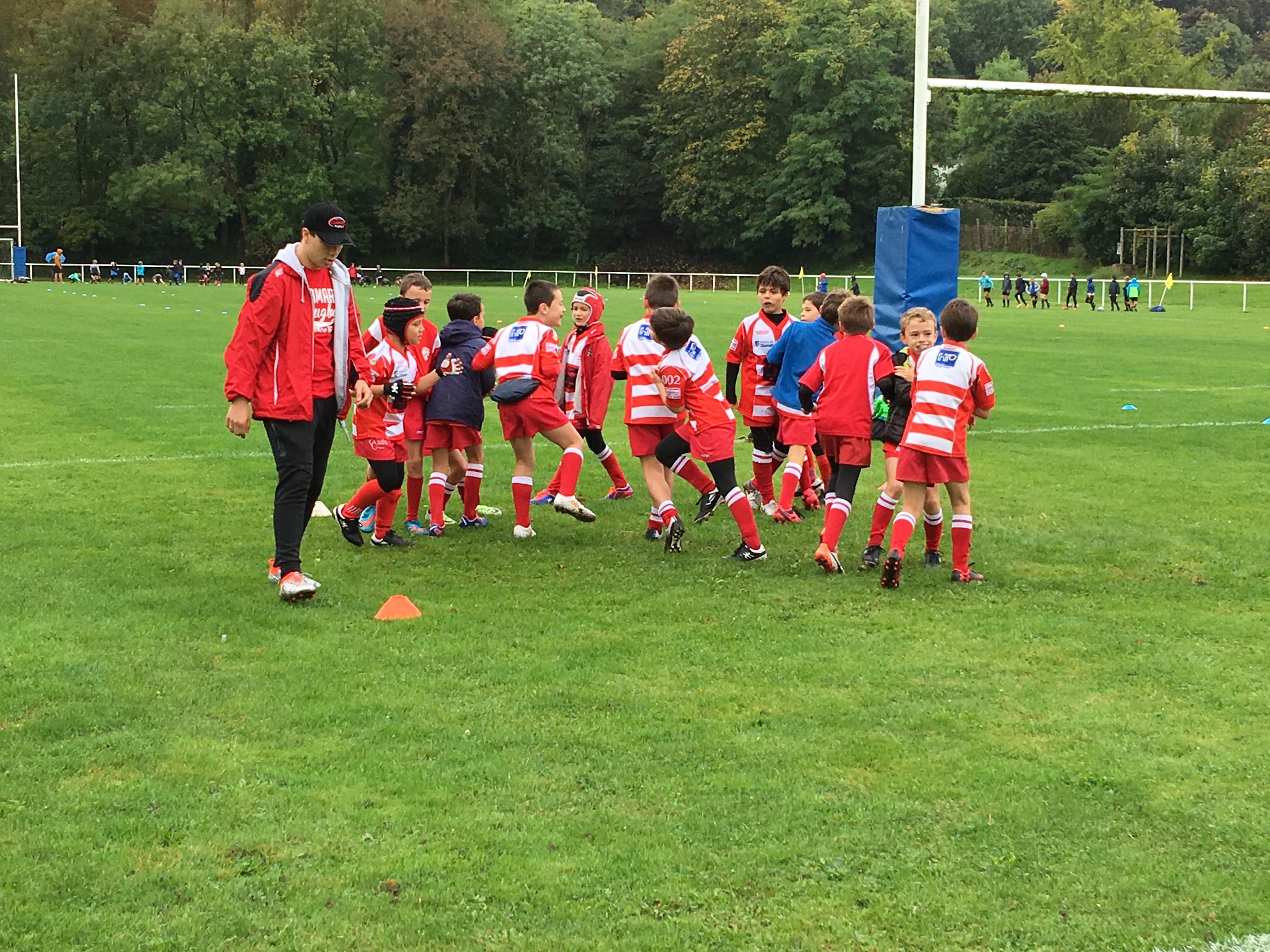 Clamart Rugby 92 Triangulaire U10 de Marne La Coquette-2