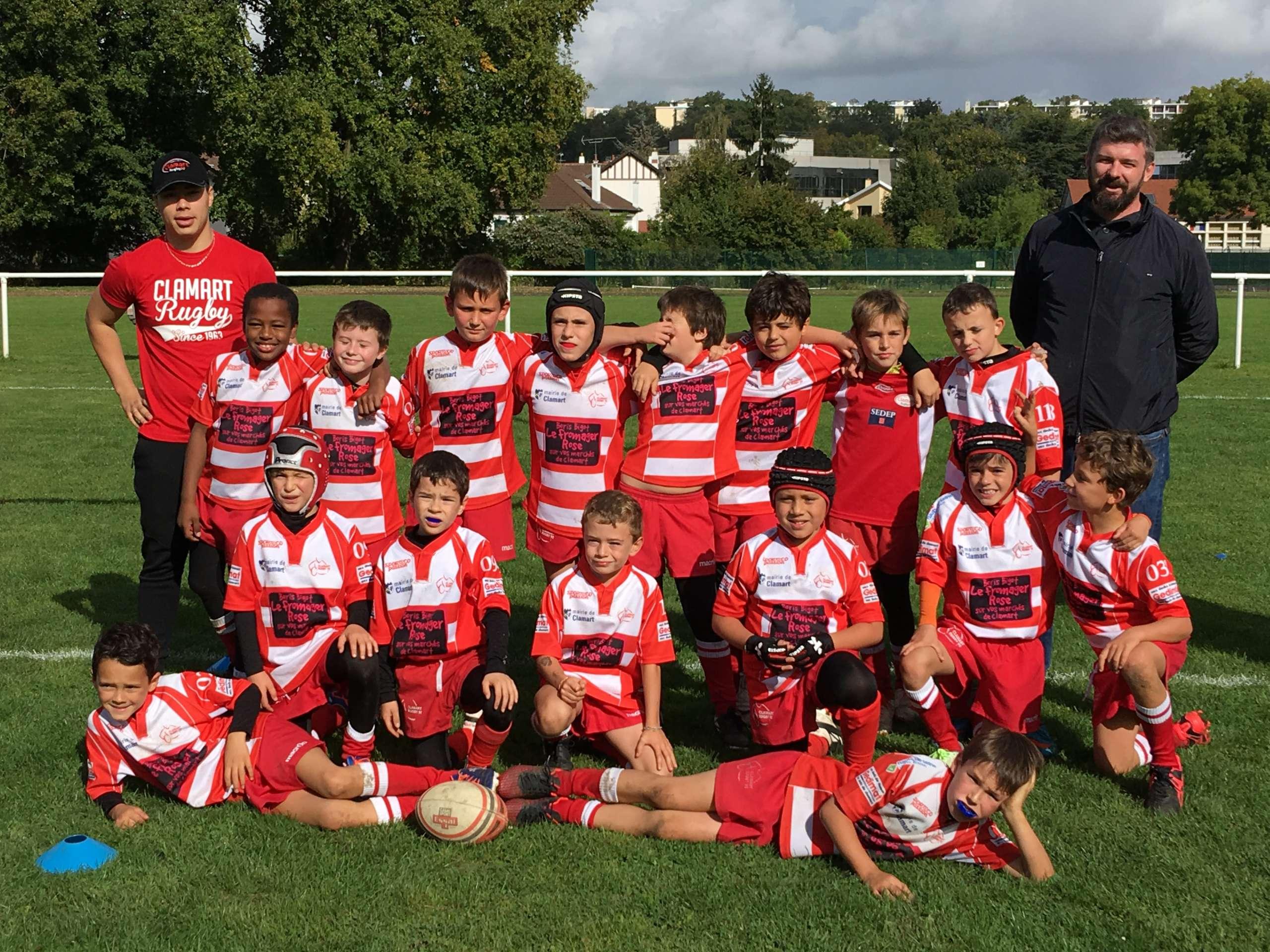Clamart Rugby 92 Triangulaire U10 de Marne La Coquette 30 septembre 2017