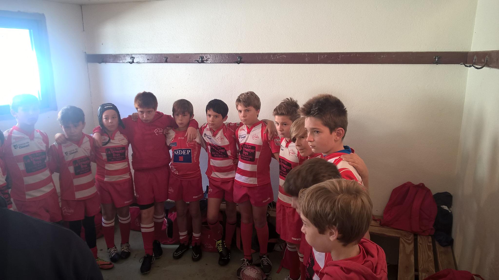 Clamart Rugby 92 Triangulaire U12 de Marne La Coquette samedi 30 septembre 2017