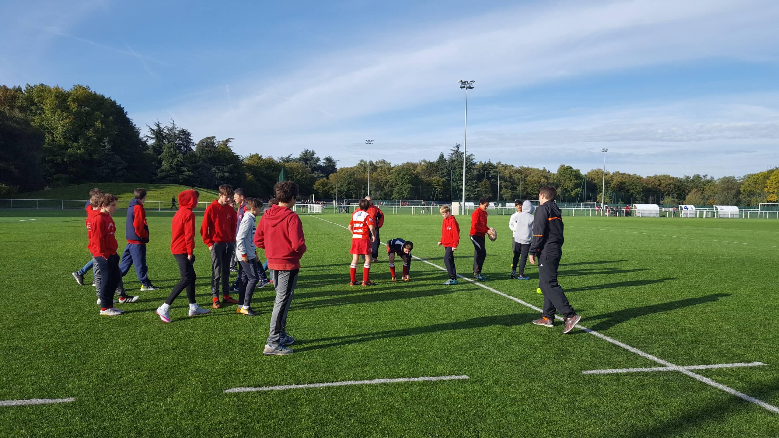 Clamart rugby 92 CPS Arbitrage des U14 7 octobre 2017