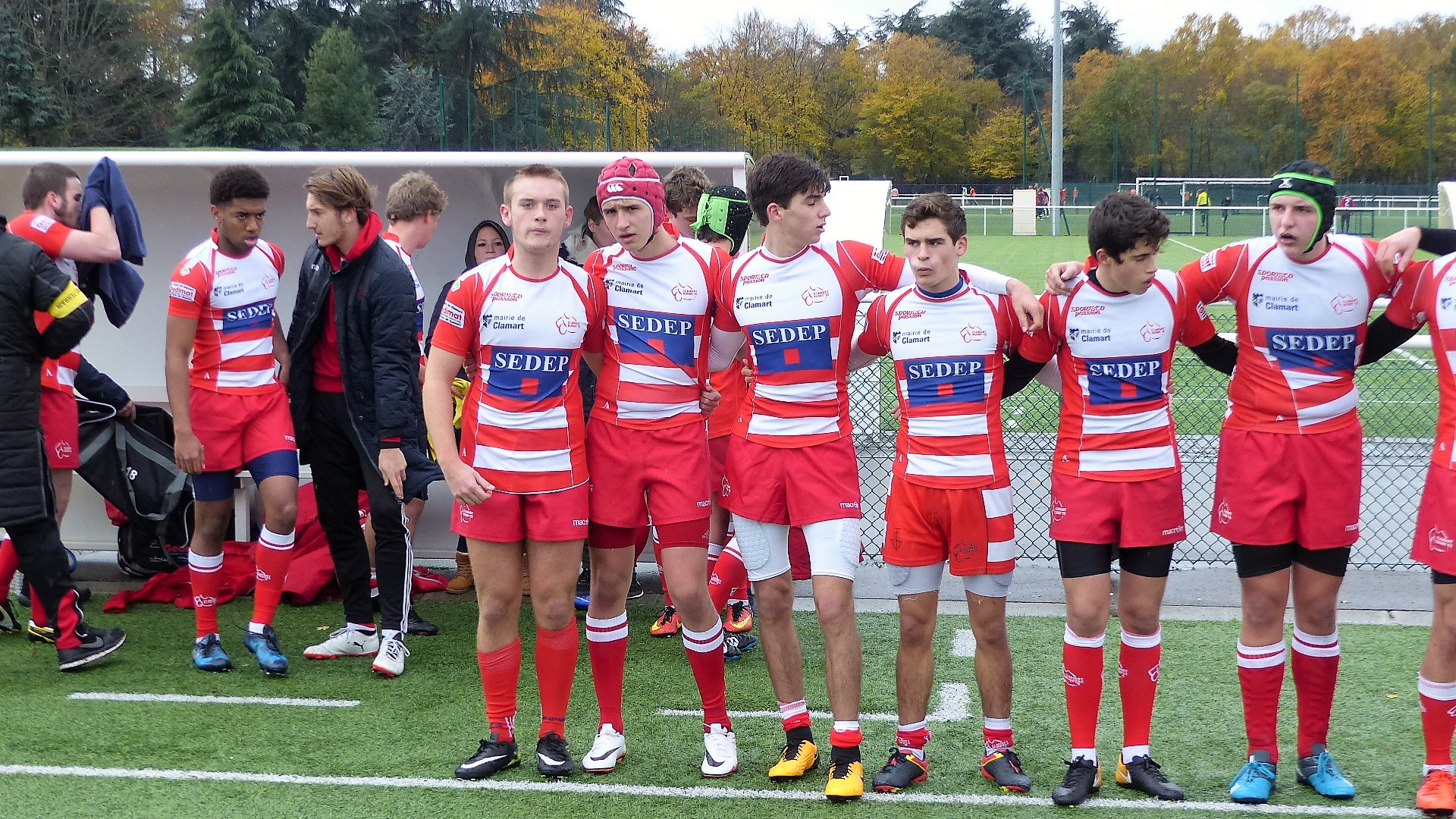 Clamart Rugby 92 -1er match de phase qualificative en Balandrade-3