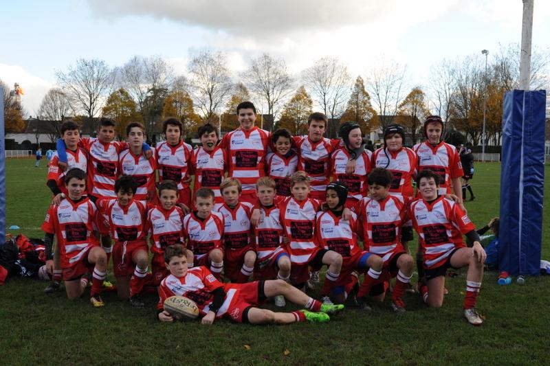 Clamart Rugby 92 - Triangulaire CIFR U14 2005 25 novembre 2017