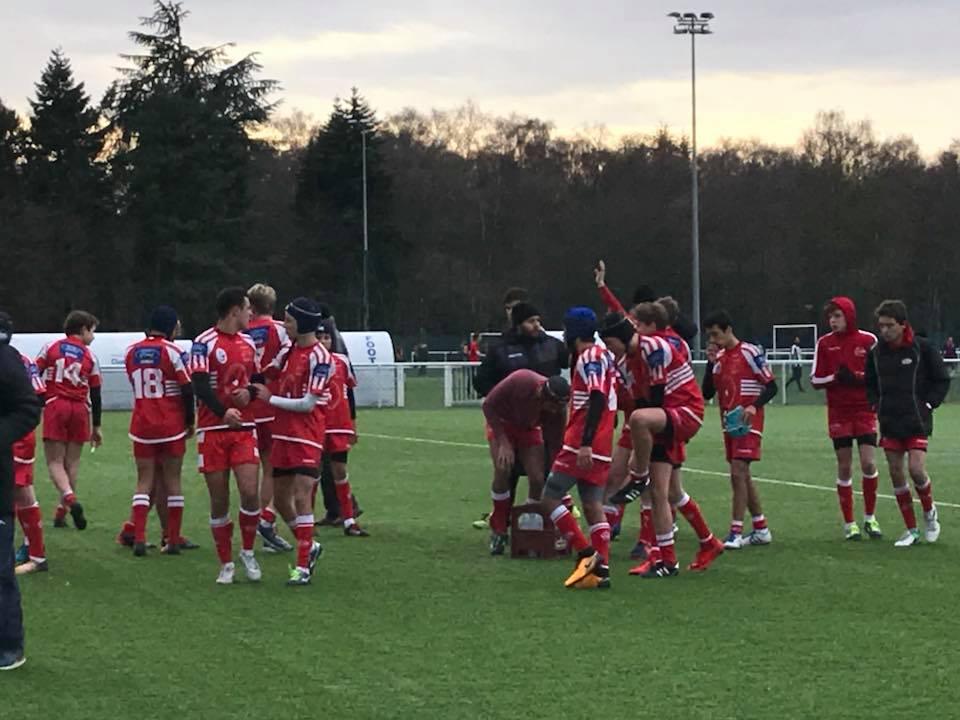Clamart Rugby 92 Equipe Cadets Résultats des Cadets du samedi 16 décembre 2017 en Teulière C et B